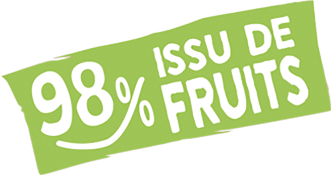 98% issue de fruits