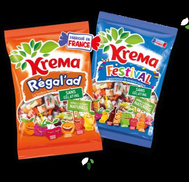 Krema Regalad bonbons vegan