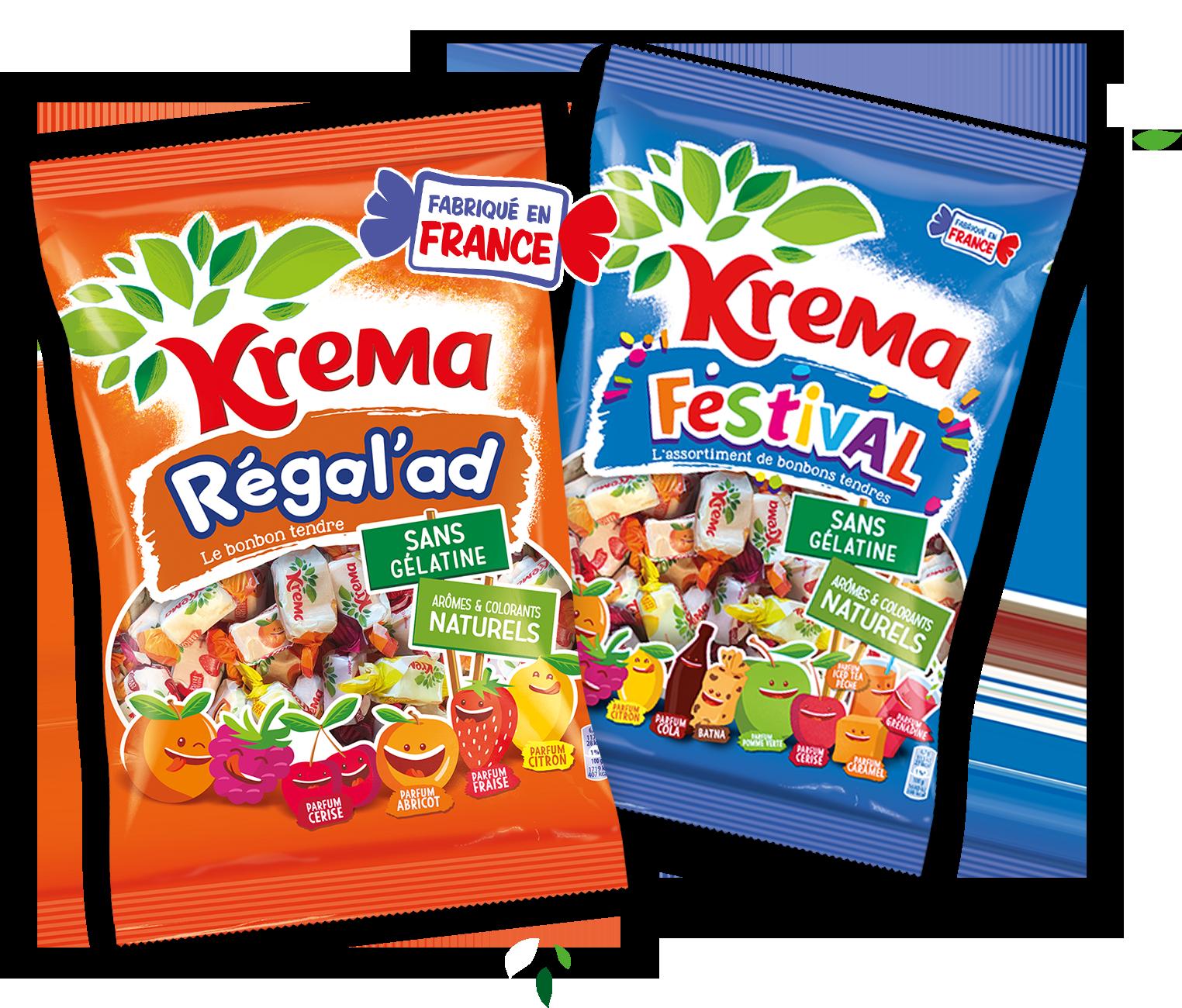 Packet Krema nouvelle recettes