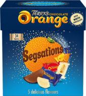 Terry's chocolate Orange Segsations box