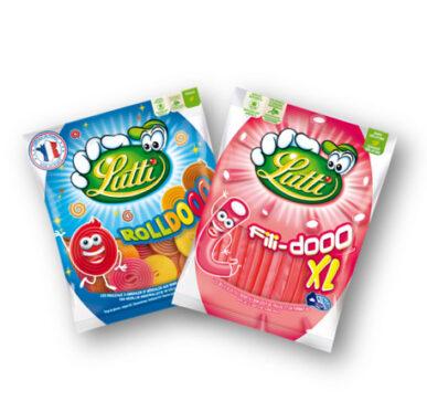 Sachet Bonbons Lutti Roll Dooo - Fili Dooo XL